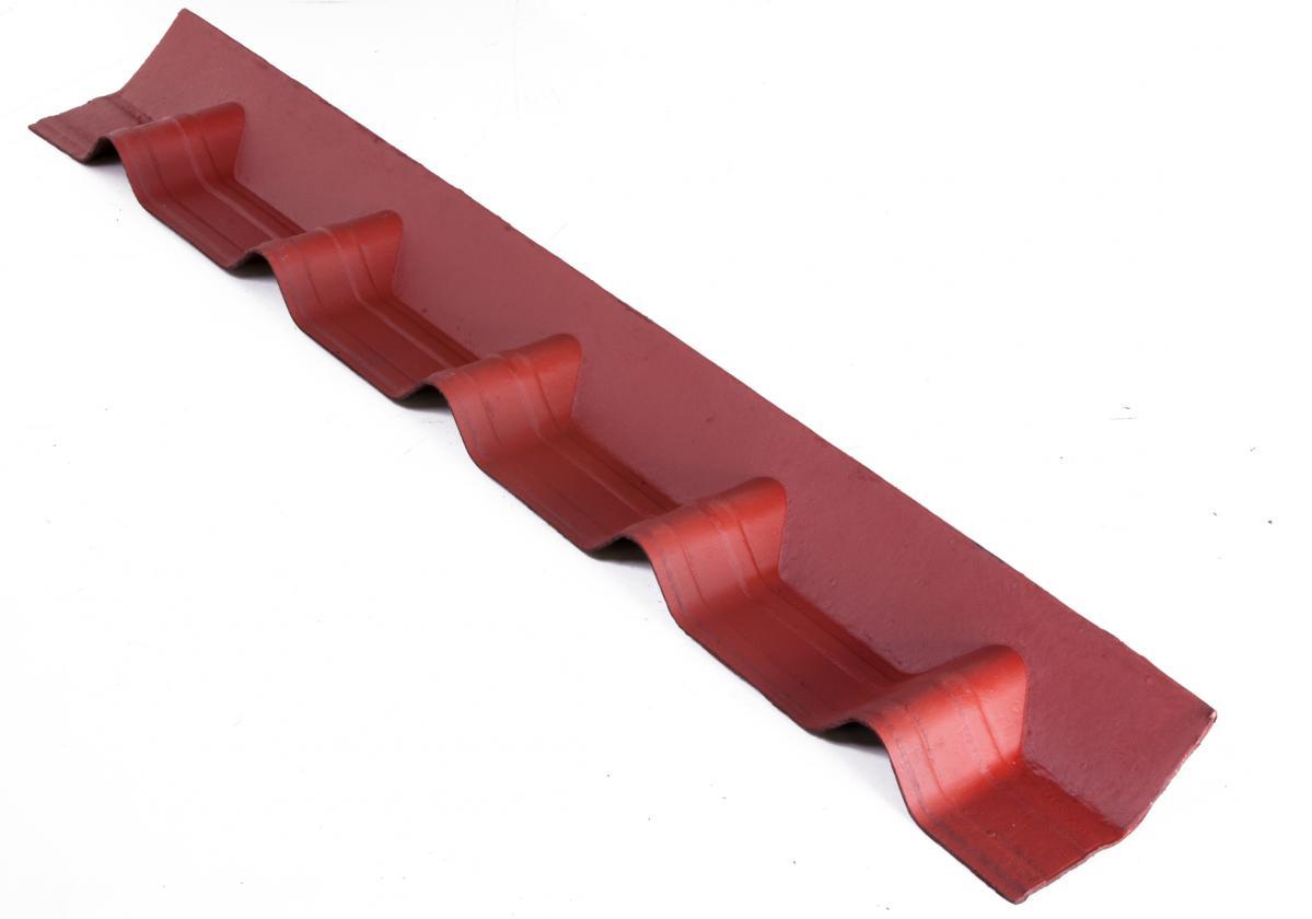 Apron Piece Onduvilla wall abutment Red