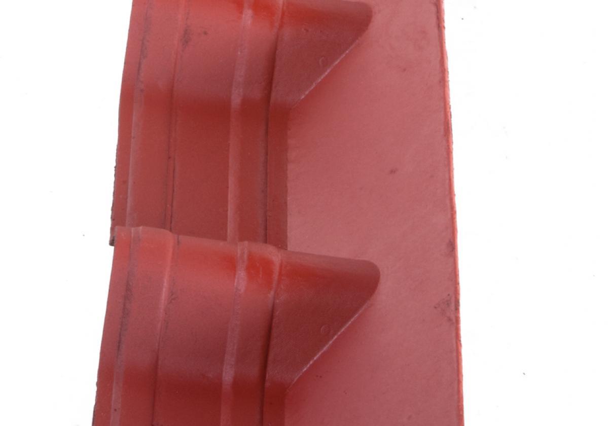 Apron Piece Onduvilla wall abutment Shaded Red