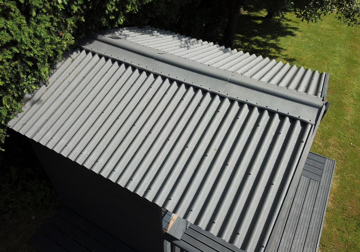 Onduline Classic Intense Grey Shed Roof