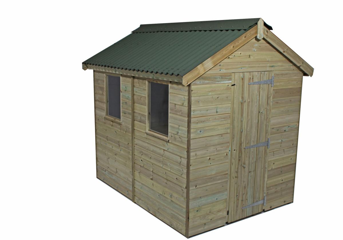 Onduline Classic Green for garden shed