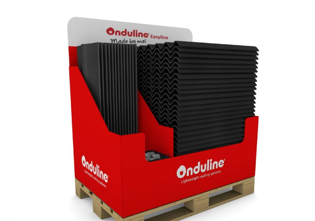 Available on a stand alone pallet
