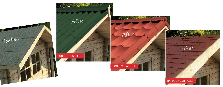 Onduline lightweight roofing solutions