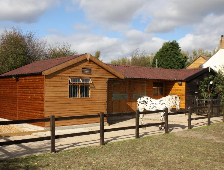 Onduline for stables