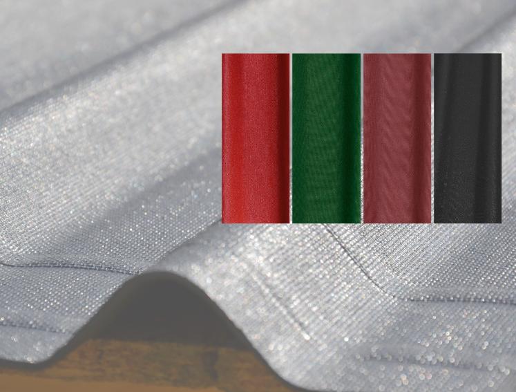 DURO SX 35 bituminous corrugated roof sheets colours