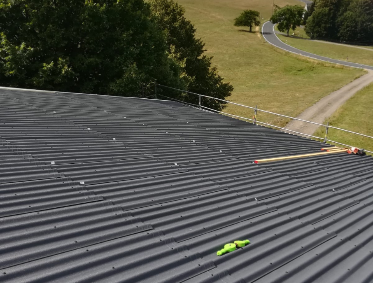 DURO SX 35 eco-friendly corrugated roof sheets